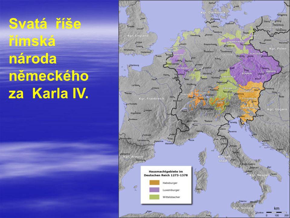 Svatá říše římská národa německého za Karla IV.