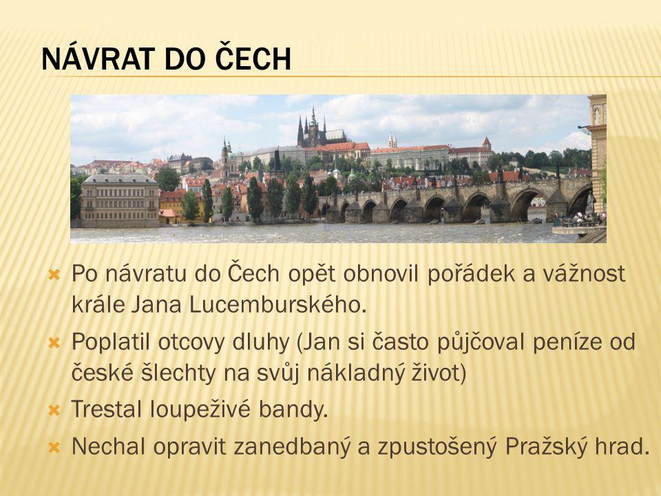 1.Popište dětství Karla IV.. 2. Které významné stavby nechal postavit.