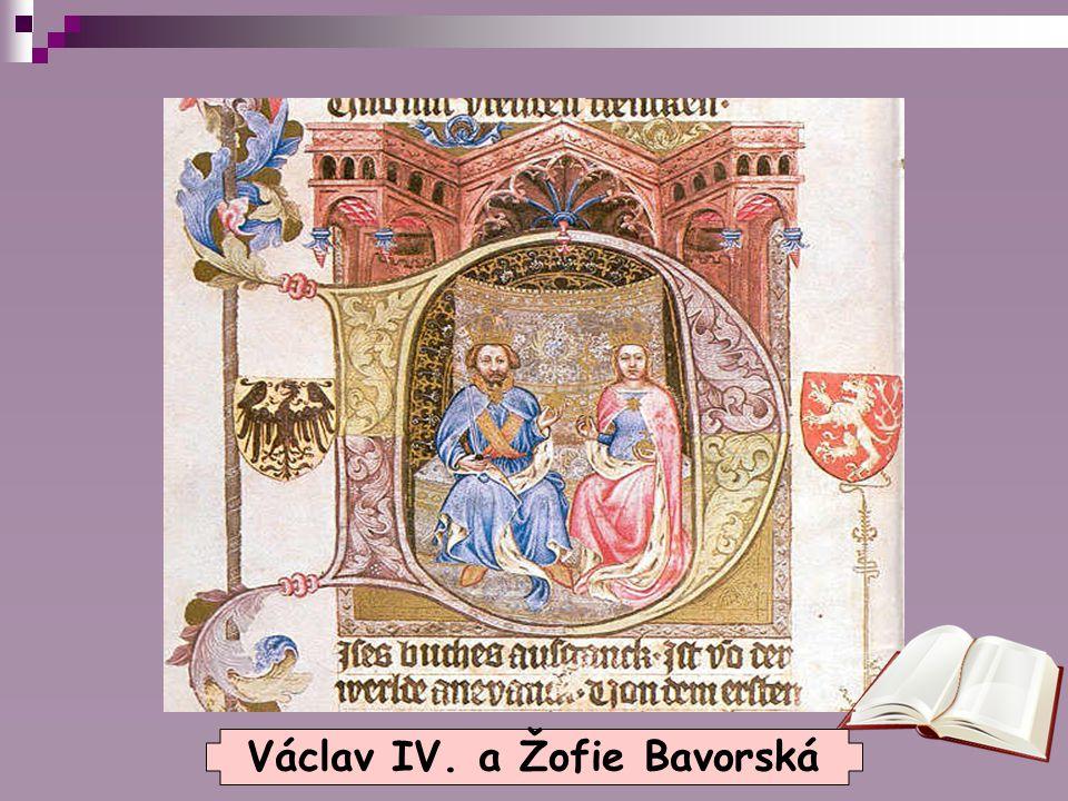 Lazebnice Zuzana  Povídání o Václavovu vztahu k krásné lazebnici Zuzaně, která mu údajně pomohla pomocí lodičky k útěku z vězení, si vymyslel kronikář Václav Hájek v 16.