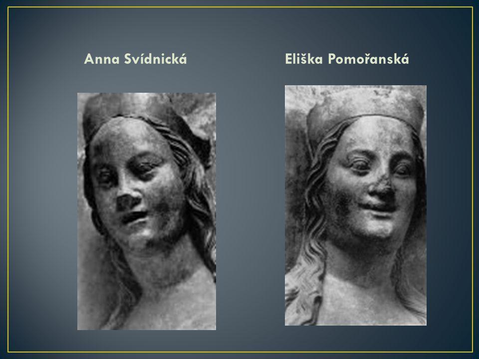 Anna SvídnickáEliška Pomořanská
