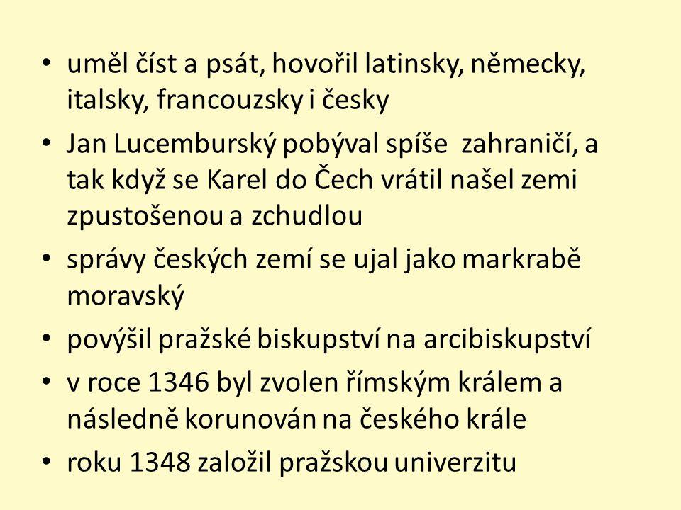 Země Koruny české Čechy Morava Slezko Horní a Dolní Lužice Braniborsko