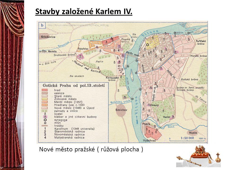Stavby založené Karlem IV.