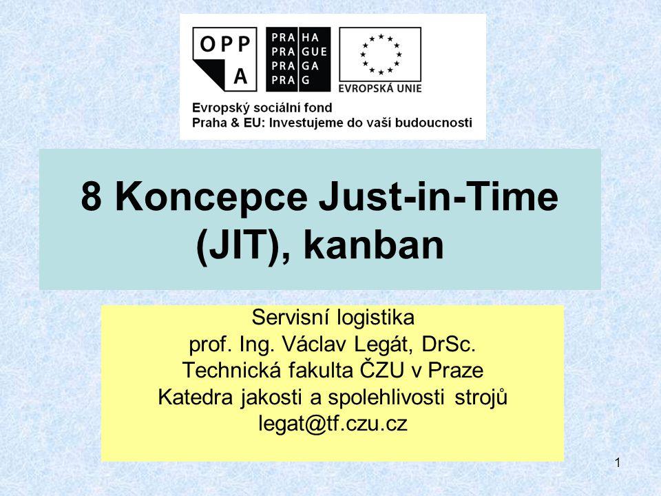 2 JIT (Just-in-Time) - právě včas