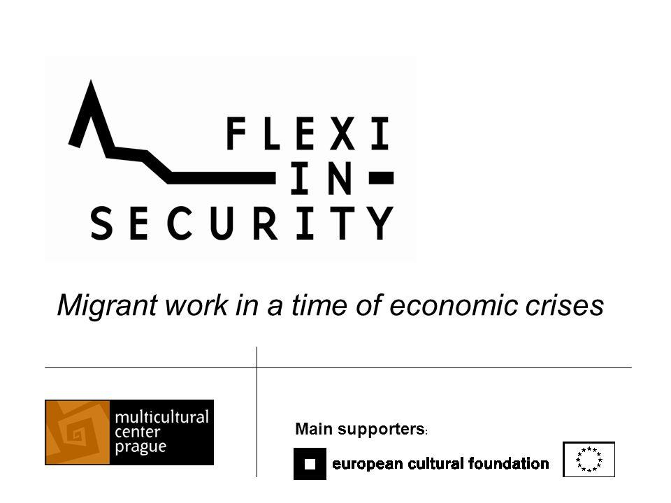 Humanitarian crisis Security risks Moral dillemmas Economic crisis revealed the Czech migration regime´s problems: