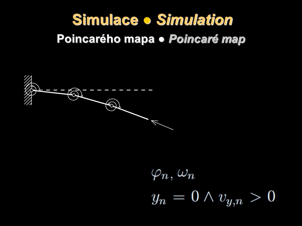 Poincarého mapa ● Poincaré map