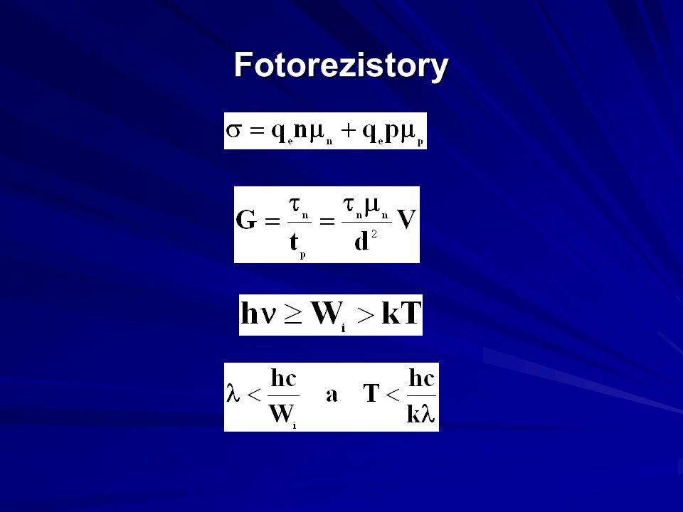 Fotorezistory
