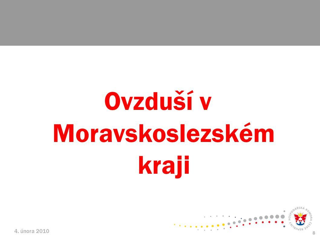 4. února 2010 8 Ovzduší v Moravskoslezském kraji