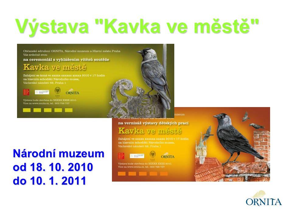 Národní muzeum od 18. 10. 2010 do 10. 1. 2011 Výstava Kavka ve městě