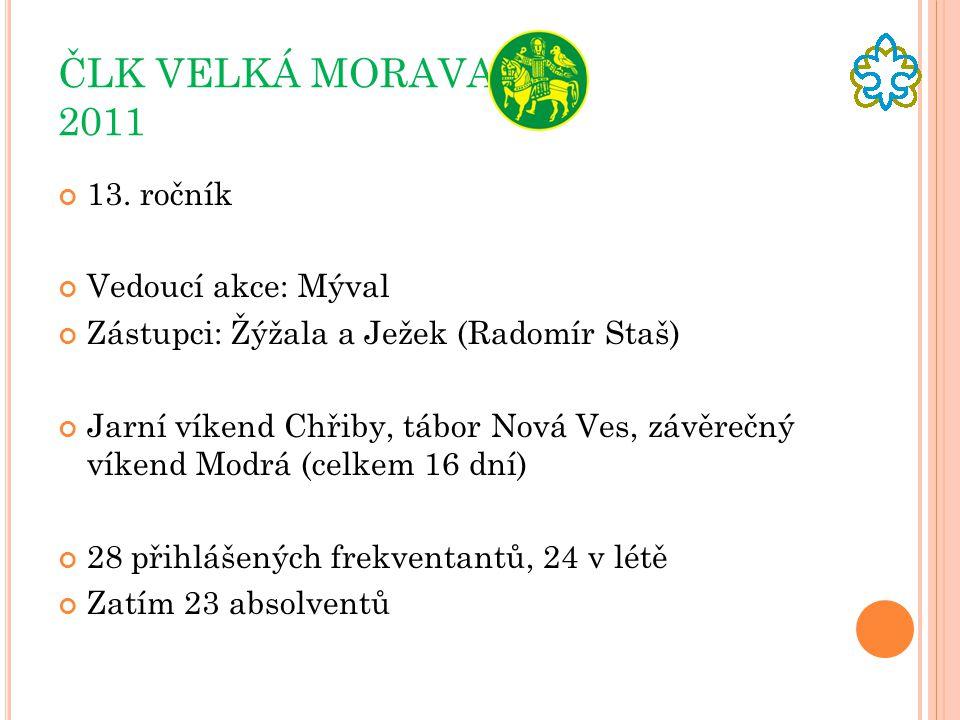 ČLK VELKÁ MORAVA 2011 13.