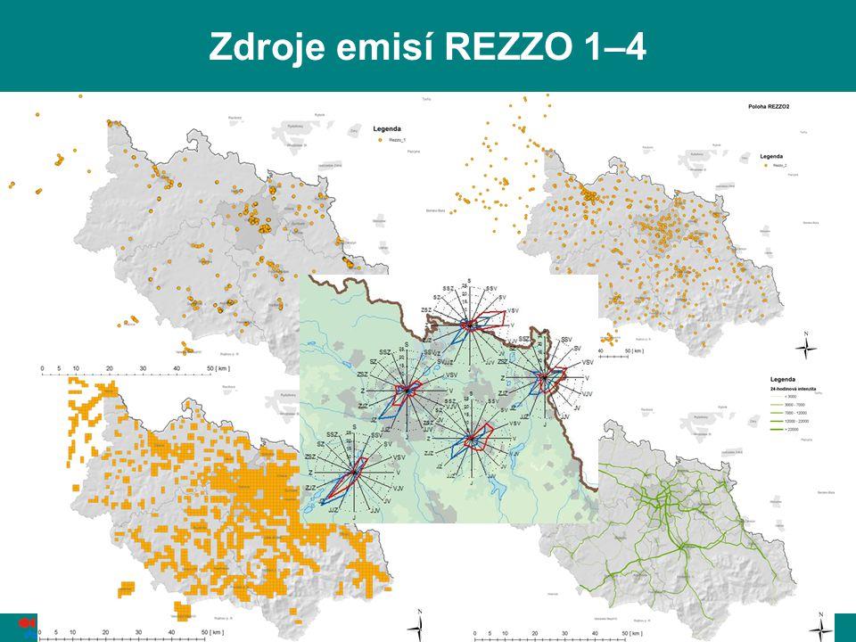 L. Černikovský, ČHMÚ: Sledování a hodnocení kvality ovzduší, Ostrava, 6. 4. 2011 18 Zdroje emisí REZZO 1–4
