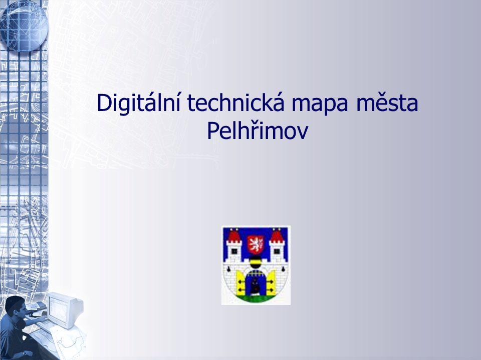 Úvodní stránka - partner v digitálním světě Digitální technická mapa města Pelhřimov