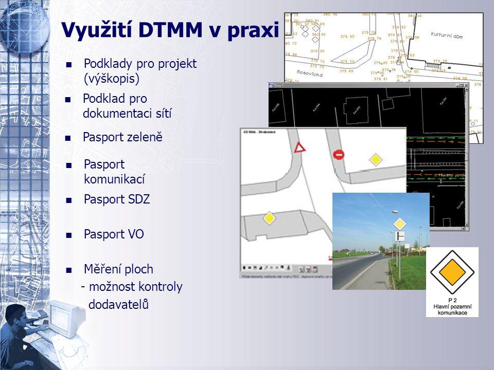 Ukázka tematických map n n Podklady pro projekt (výškopis) n n Podklad pro dokumentaci sítí n n Pasport komunikací n n Pasport zeleně n n Pasport SDZ
