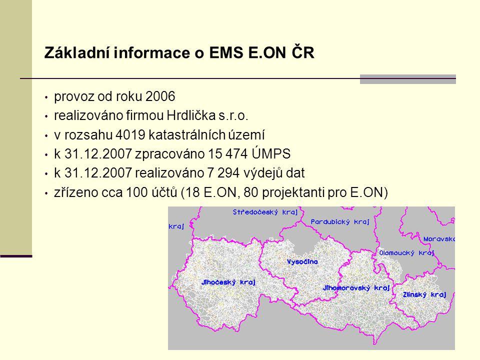 Úvodní stránka - partner v digitálním světě Základní informace o EMS E.ON ČR provoz od roku 2006 realizováno firmou Hrdlička s.r.o.