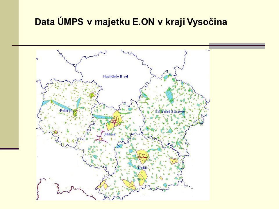 Úvodní stránka - partner v digitálním světě Data ÚMPS v majetku E.ON v kraji Vysočina