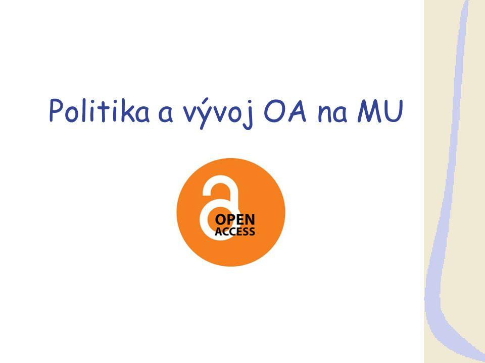 Politika a vývoj OA na MU
