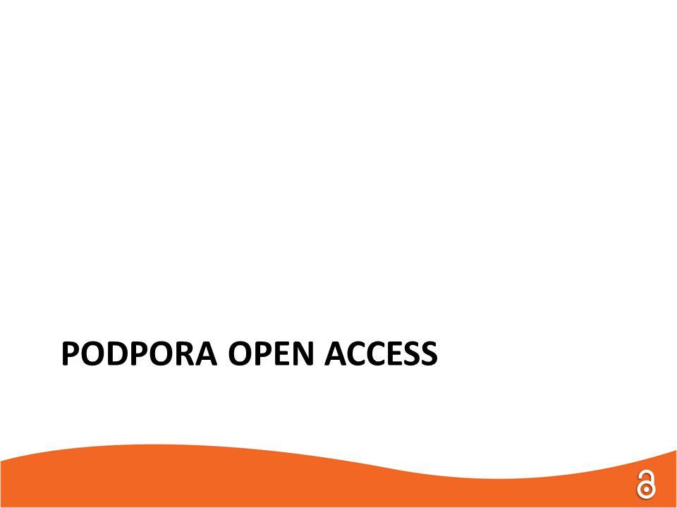 PODPORA OPEN ACCESS