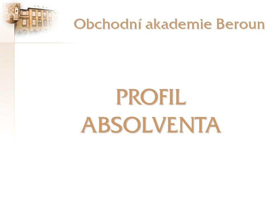 Obchodní akademie je koncipována jako univerzální střední odborná škola s všeobecným studijním základem a podnikatelským zaměřením, připravující absolventy na výkon různých činností spojených s podnikáním, dále v oblasti peněžnictví a v asistentsko - sekretářských činnostech.