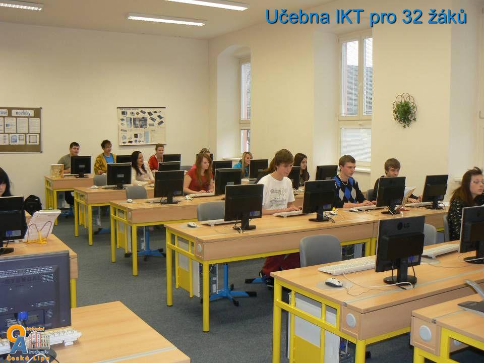 Učebna IKT pro 32 žáků