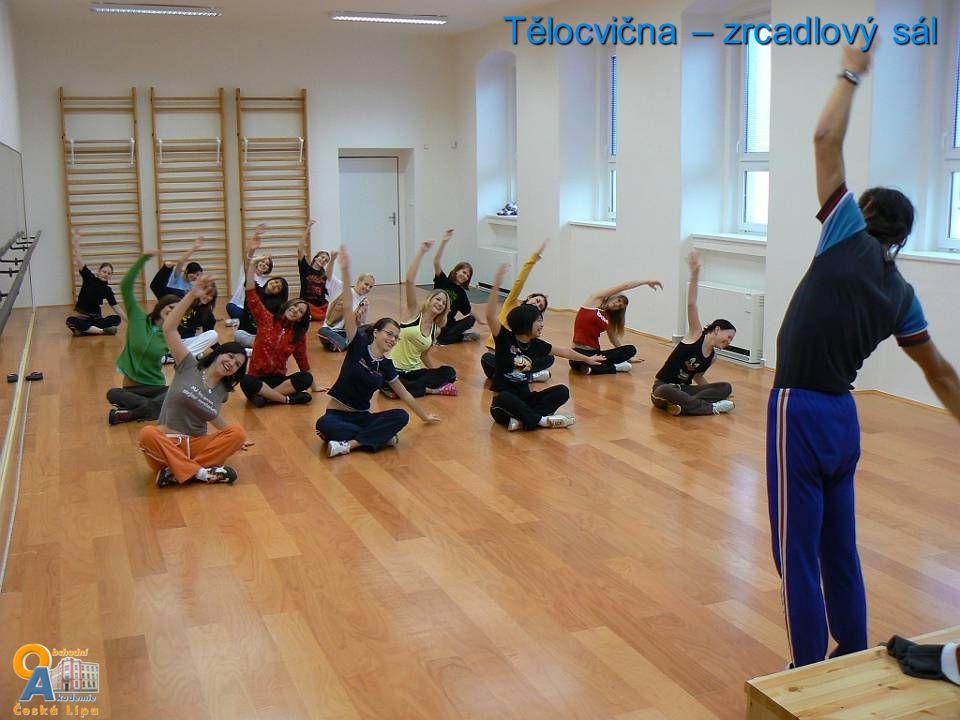 Tělocvična – zrcadlový sál