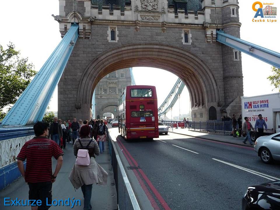 Exkurze Londýn