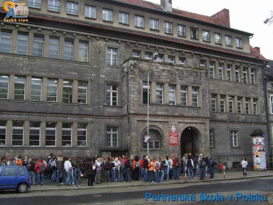 Partnerská škola v Polsku
