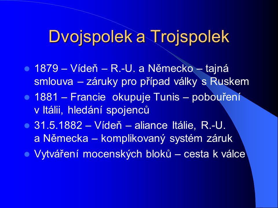 Dvojspolek a Trojspolek 1879 – Vídeň – R.-U.