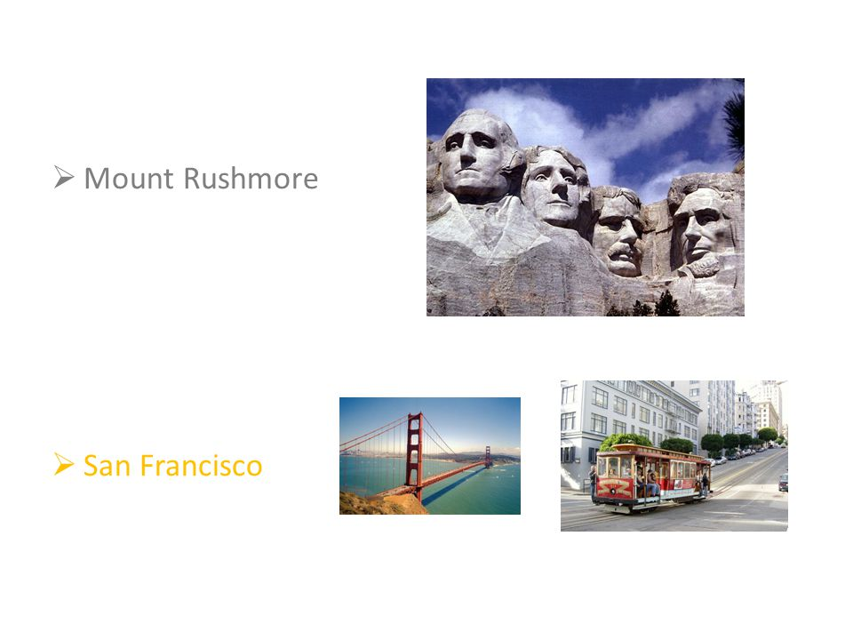  Mount Rushmore  San Francisco