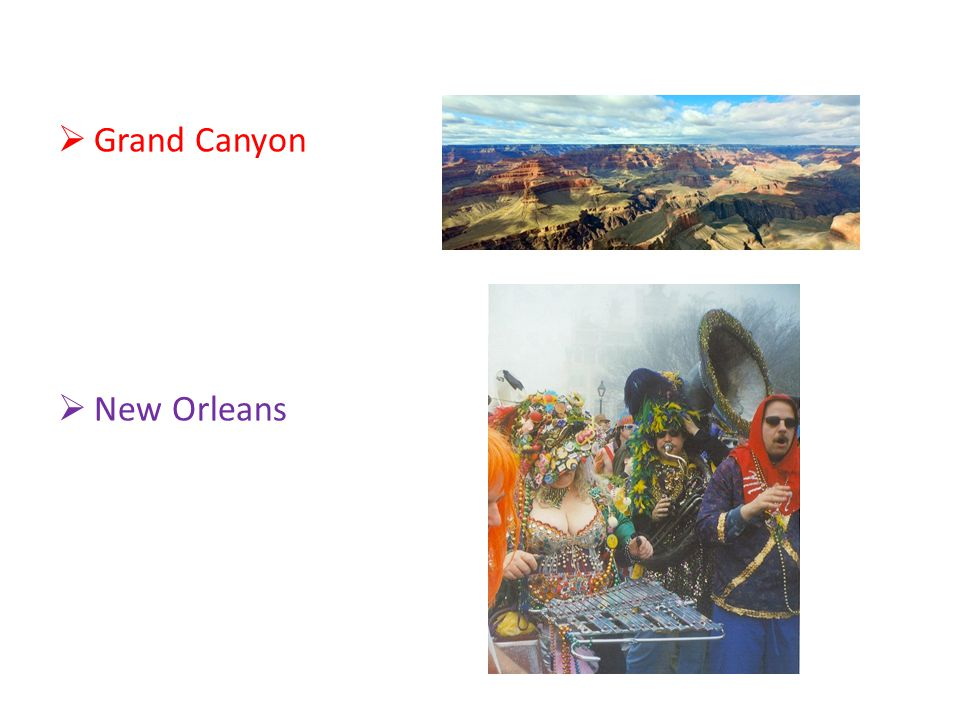  Grand Canyon  New Orleans