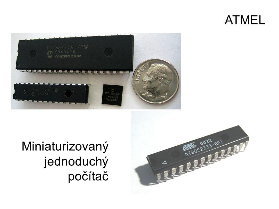 ATMEL Miniaturizovaný jednoduchý počítač
