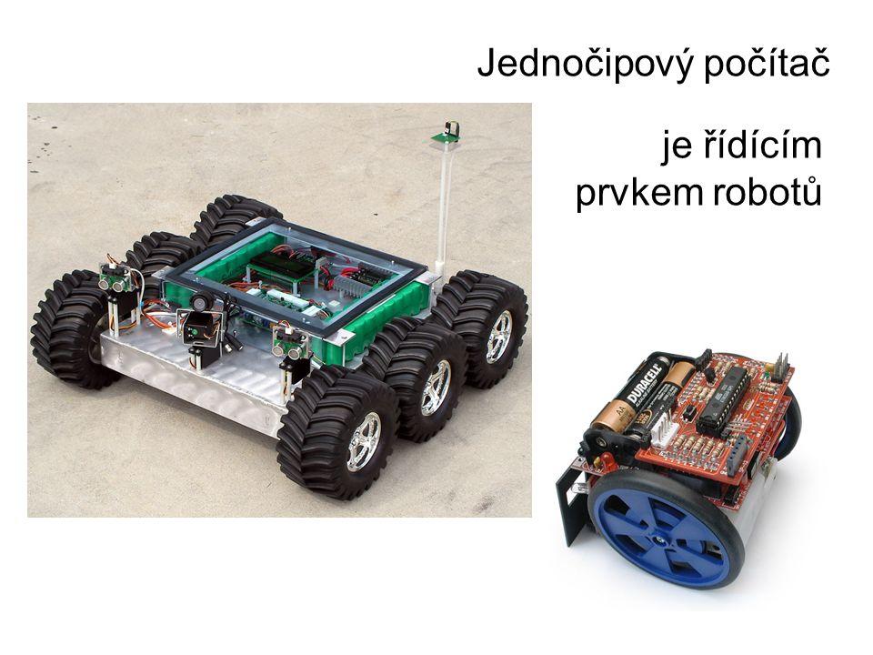 je řídícím prvkem robotů
