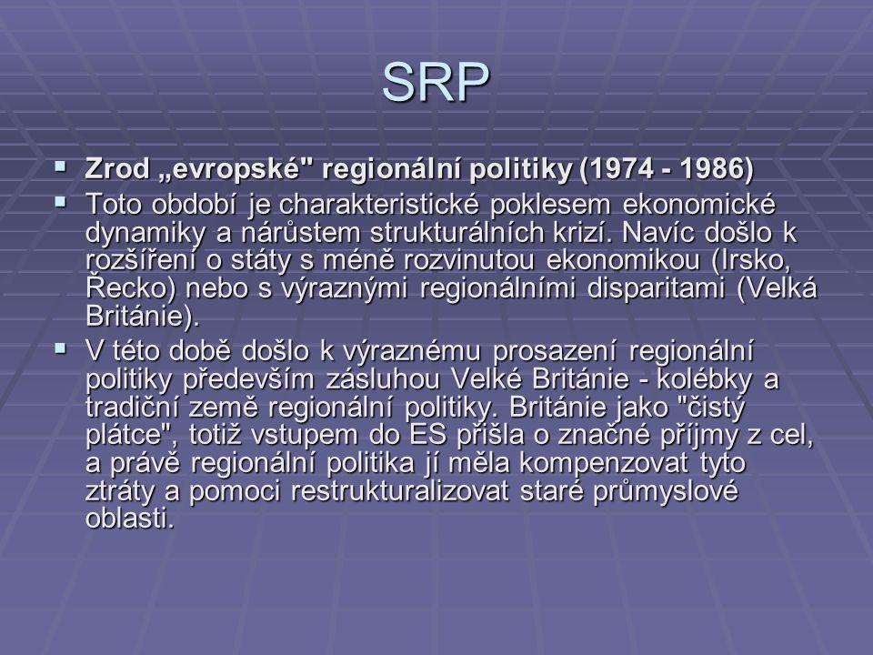 """SRP  Zrod """"evropské"""