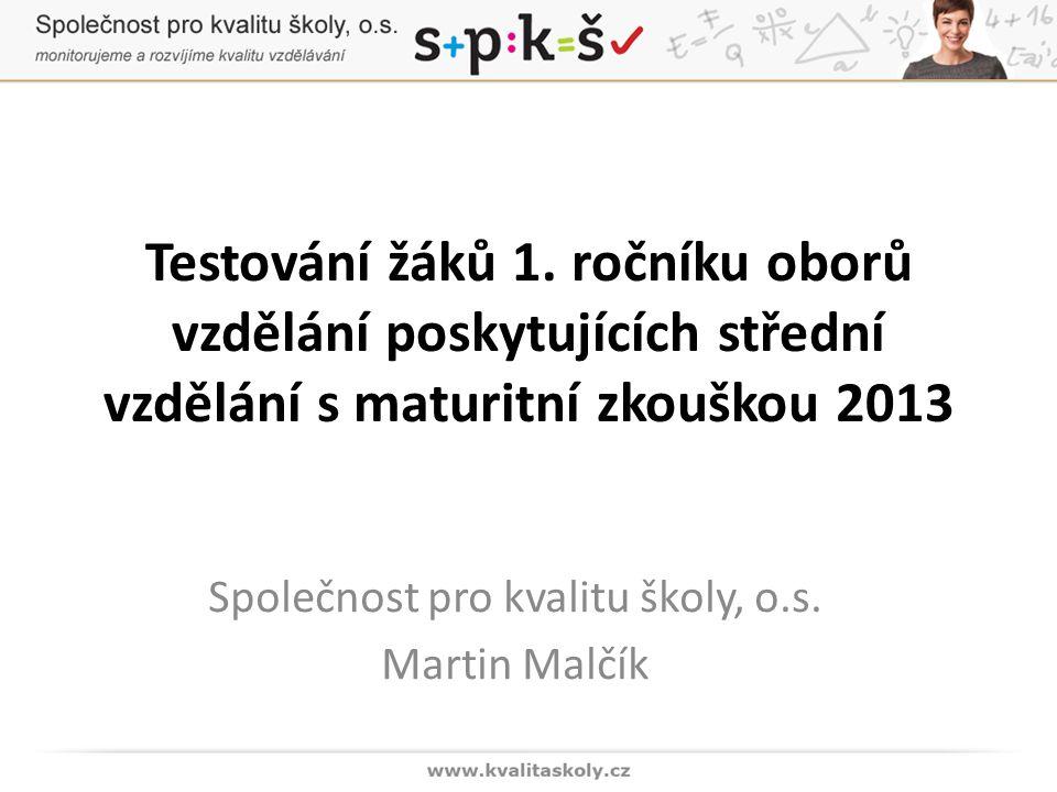Části testu PÚ(o)[%] GymnáziaLyceaTechnickéEkonomickéSlužbové Přírodov ědné Ped., soc.