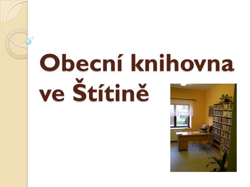 Obecní knihovna ve Štítině