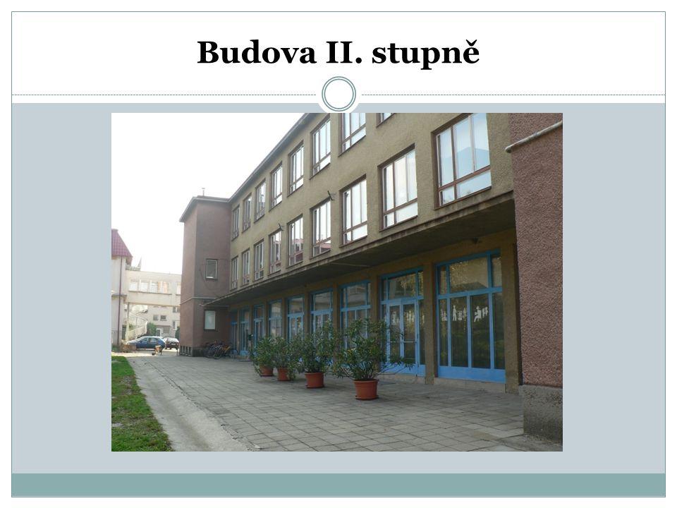 Budova II. stupně