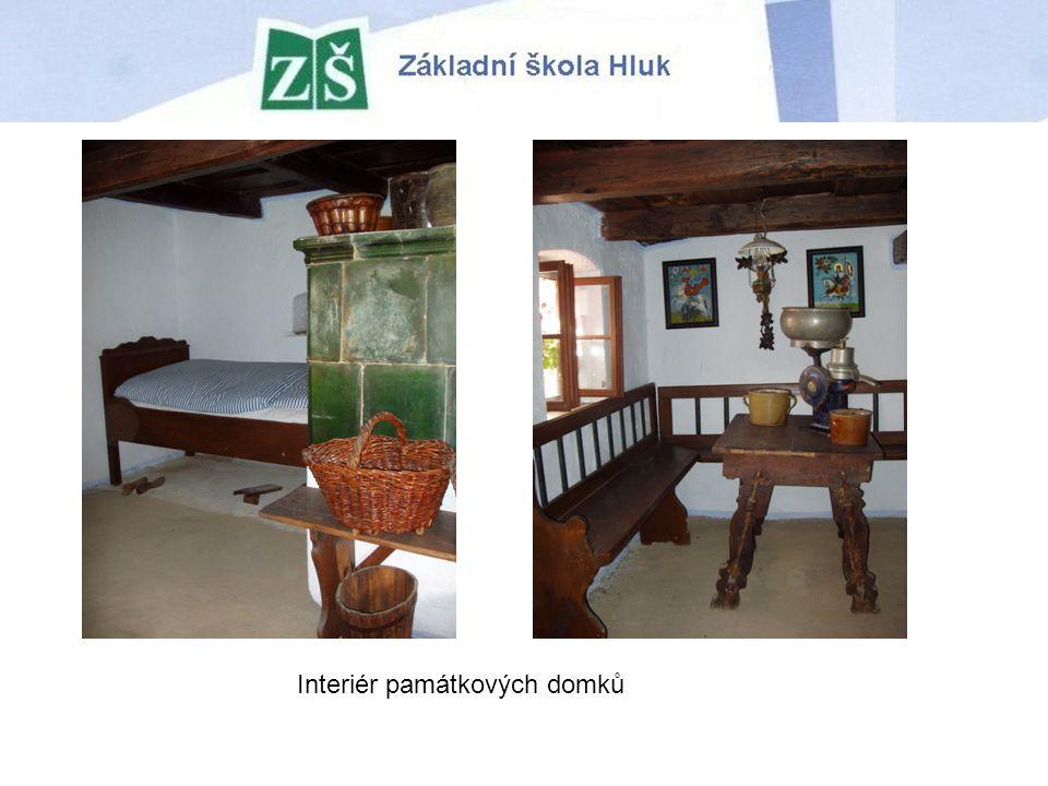 Interiér památkových domků