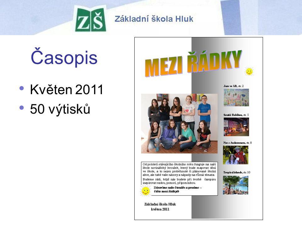 Časopis Květen 2011 50 výtisků
