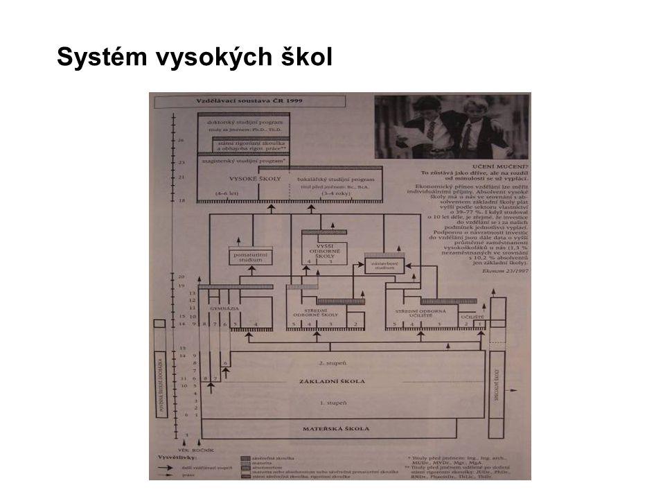 Systém vysokých škol