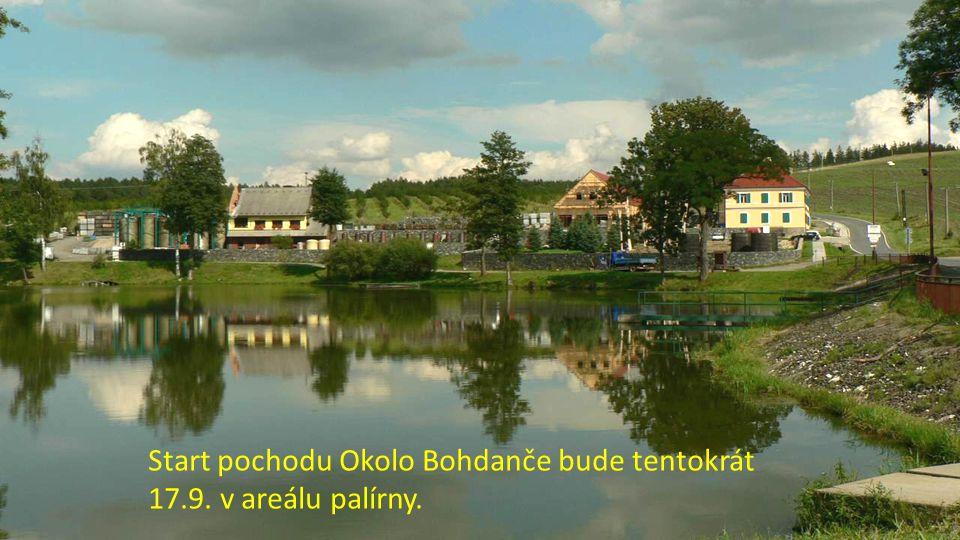 Do Číhoště, na střed ČR, se podívá trasa 81km.Zajet si tam ale můžete i z trasy 40km.