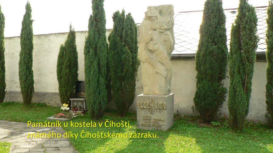 Do Číhoště, na střed ČR, se podívá trasa 81km. Zajet si tam ale můžete i z trasy 40km.