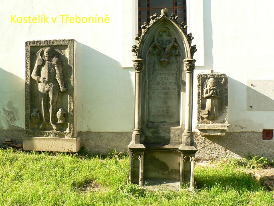 Kostelík v Třeboníně