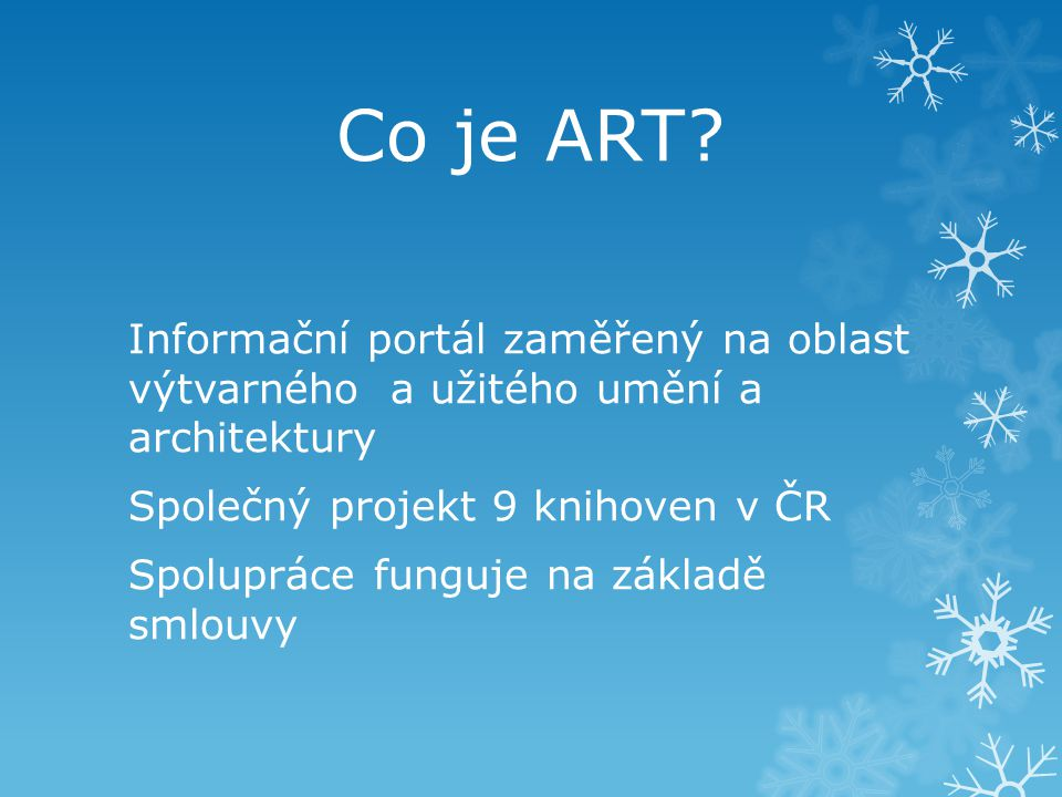 Co je ART.