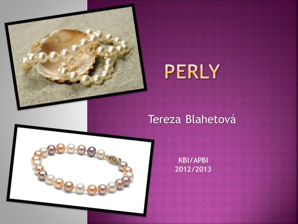 Tereza Blahetová KBI/APBI 2012/2013