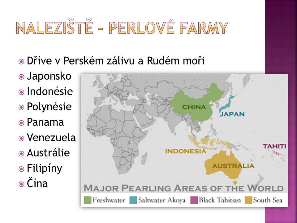  Dříve v Perském zálivu a Rudém moři  Japonsko  Indonésie  Polynésie  Panama  Venezuela  Austrálie  Filipíny  Čína