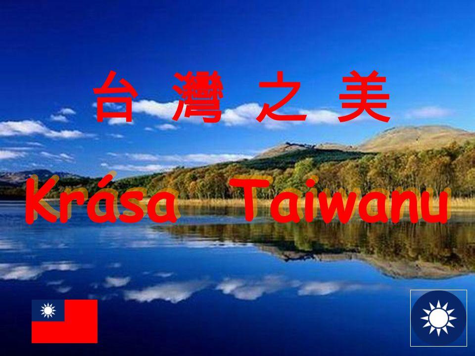Útes Chingshuei pohoří Coastal a silnice