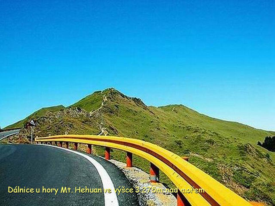 Hřeben pohoří Hehuan