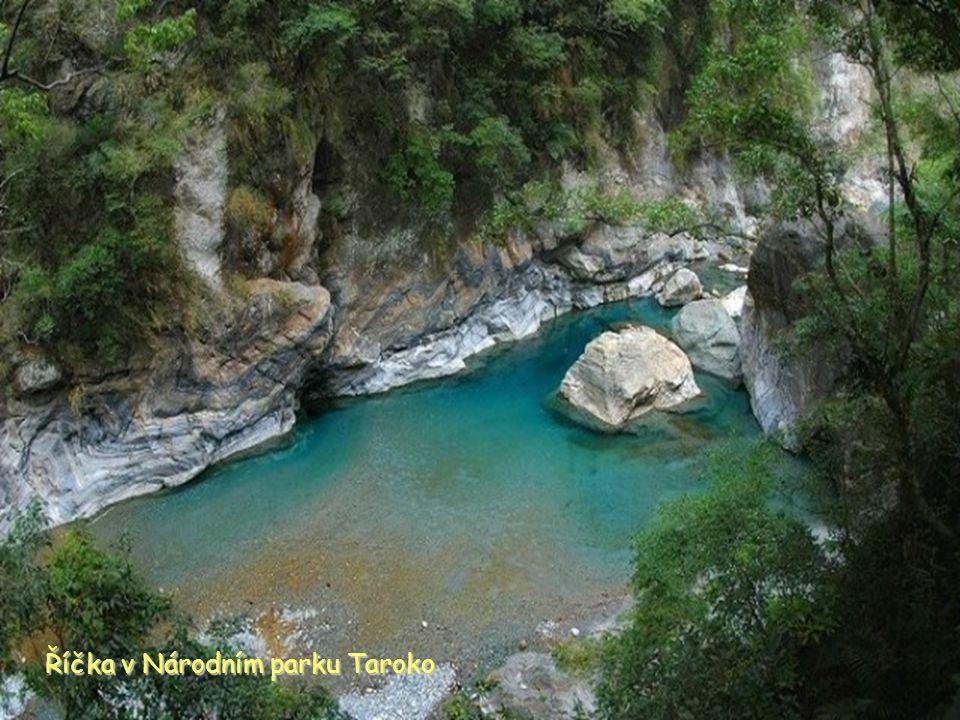 Taroko Národní park naučná stezka
