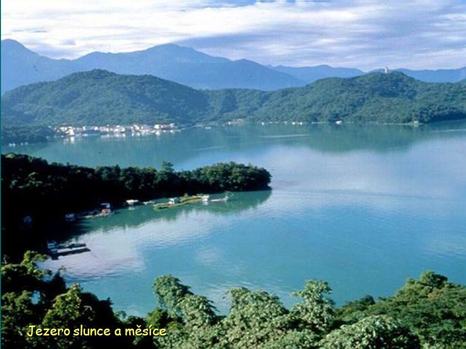 Vyhlídka Alishan národní scénická oblast