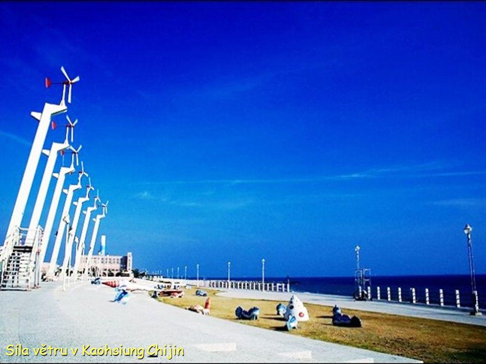 Záliv Dapeng Pingtungu