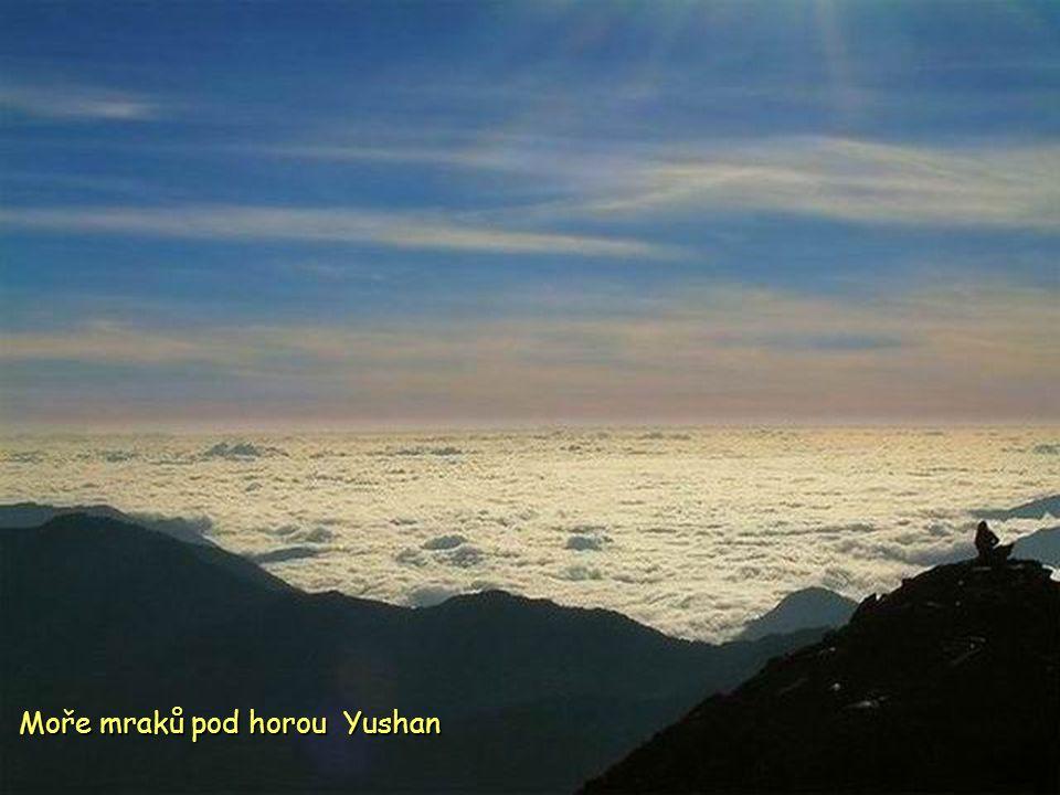 Yushan hlavní hřeben