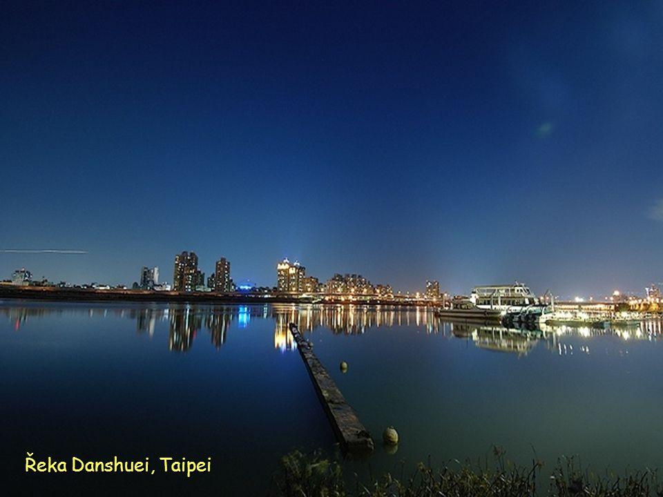 Danshuei rybářský přístav